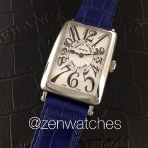 Franck Muller Ladies Long Island Steel 952 QZ