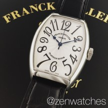 Franck Muller Cintree Curvex 5850 Automatic Steel