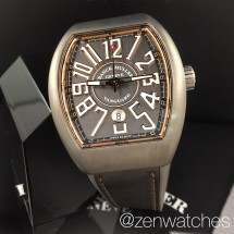 fm vanguard titanium rose gold