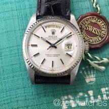 Rolex Vintage White Gold Day-Date Ref.1803