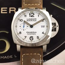 Panerai Pam 1499 Luminor Marina 1950 White Dial 3 Days Automatic 44mm