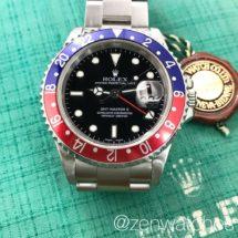 Rolex Discontinued Model GMT-Master II Ref.16710 Pepsi