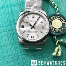 Rolex Oyster Perpetual Ref.177200 Silver Dial 31mm